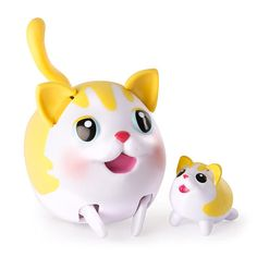 """Chubby Puppies and Friends with Baby Kitty - Yellow Tabby Shorthair - Spin Master - Toys """"R"""" Us"""