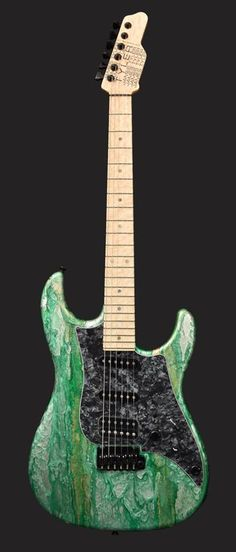 James Tyler Guitars Green Shmear.