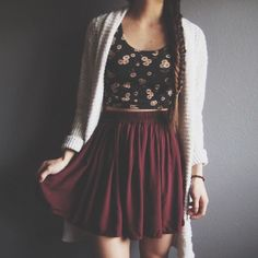 fashion, outfit, and style image Cute Skirt Outfits, Cute Skirts, Cool Outfits, Casual Outfits, Casual Clothes, Hipster Outfits, Nice Clothes, Women's Clothes, Teen Fashion
