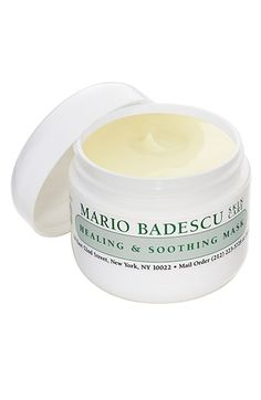 Free shipping and returns on Mario Badescu Healing & Soothing Mask at Nordstrom.com. Over-treated, irritated, acne-inflamed skin needs special care to balance out the aggressive, drying nature of treatment products and prescriptions. Replaces needed hydration on problem skin types while it speeds the healing of blemished skin. Leaves skin calm and even-toned. A great companion to Mario Badescu's Drying Mask.