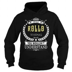 Cool ROLLO ROLLOBIRTHDAY ROLLOYEAR ROLLOHOODIE ROLLONAME ROLLOHOODIES  TSHIRT FOR YOU T shirts