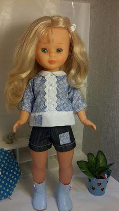 Vestidos Nancy, Nancy Doll, Girl Doll Clothes, Beautiful Dolls, American Girl, Harajuku, Vintage, Barbie, Spaces