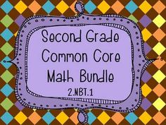 CHECK OUT THIS FREE PACK! THIS PACK ALLOWS YOU TO PREVIEW THE WORK THAT I'VE DONE IN CREATING MY OTHER COMMON CORE BUNDLES!  This bundled pack contains resources that address second grade standard 2.NBT.1 (Understand that the three digits of a three-digit number represent amounts of hundreds, tens, and ones; e.g., 706 equals 7 hundreds, 0 tens, and 6 ones).