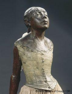 Sculpture by Edgar Degas Edgar Degas, Degas Little Dancer, Degas Ballerina, Degas Paintings, French Artists, Art And Architecture, Oeuvre D'art, Les Oeuvres, Sculpture Art