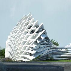 ArtStation - Hugh Marentes Parametric Architecture, Creative Architecture, Cultural Architecture, Futuristic Architecture, Sustainable Architecture, Beautiful Architecture, Contemporary Architecture, Art And Architecture, Unique Buildings
