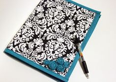 DIY notebook holder