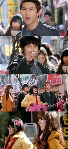 This made me start to tear up, one of the sweetest moments. Telling a friend you remember them and that you are so grateful.  Genie - Dream High version