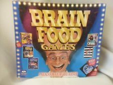 Brain Food Games ~Vntg 90's PC Videogames~3 CD-Roms 4 Diskettes Othello Zoop EUC