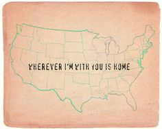 wherever I'm with you is home  by Mursblanc