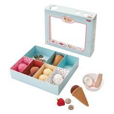 Haba Biofino Venezia Ice Cream Shop - Play Kitchen Accessories at Hayneedle