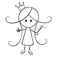 princess drawing cartoon