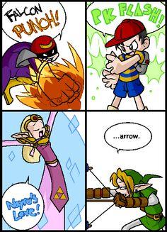 Super Smash Bros Comics - ... Arrow
