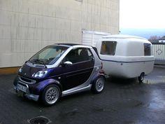 Smart Fortwo and Levante Graziella 300 Smart 42, Smart Auto, Mercedez Benz, Van Car, Smart Fortwo, Car Gadgets, Celebrity Travel, Car Tuning, Rv Life