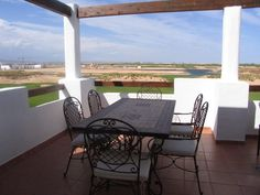 2 bedroom apartment on a golf course for less than 65,000€ offering comfortable holiday accommodation with rental possibilities whether you like golf or not the peaceful surrounding need to be seen to be believed. An excellent deal for less than the price of a luxury car. KEY READY! #Murcia #Spain #CostaCalida #properties #sale #TerrazasDeLaTorre #Resort