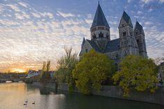 "Metz, Lorraine, France. Mon ""chez moi"", my dear hometown<3"