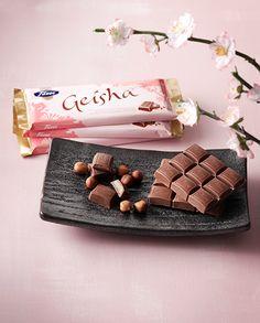 Geisha, chocolate, Fazer