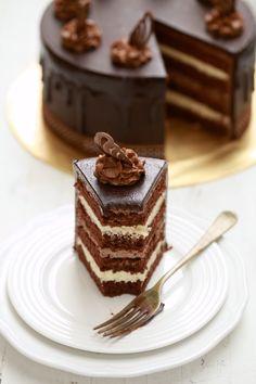 masam manis: Kek Choc Indulgance bersama tips dan panduan