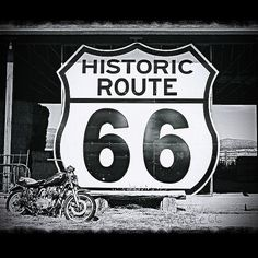 Another photo from Truxton, Arizona, on Route 66. #motorcycle #route66 #RJsRoute66 #America #USA