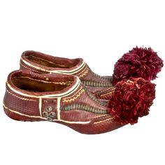 Antique Moroccan Slippers via Hunters Alley
