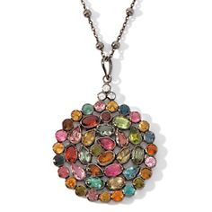 """This is such a beautiful necklace that can be layered with several of Carol Brodies' necklaces.  """"RARITIES"""". @HSN.COM"""