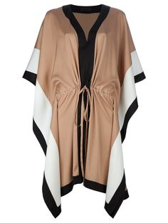 JO NO FUI caftan-dress would be SO cute with some tall boots!