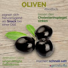 So gesund sind Oliven Small, but oh! Olives are not just an integral part of Mediterranean cuisine. Anyone who pays attention to a healthy diet should definitely put the small fruits on the menu in this country. Healthy Diet Tips, Diet And Nutrition, Healthy Life, Healthy Recipes, Olives, Organic Yogurt, Dieta Fitness, Fat Burning Drinks, Clean Eating Diet