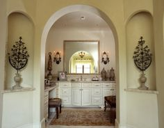 Master Bathroom Entry  -  Blailock Design