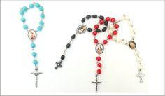 Misterios o rosarios de mano con tu foto