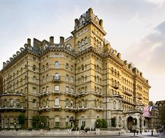 The Langham Hotel, London. Portland Place, Regent Street. Article: Best Hotels in London, Travel + Leisure. (Really loved my stay here, I want to go back!)