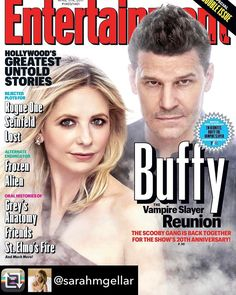 2017 is feeling good as it's the 20th anniversary of Buffy the Vampire Slayer. I am really enjoying my rewatch and these reunion photos at giving me all the feels #buffyandangelforever #buffythevampireslayer