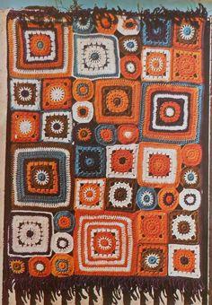 BOHO Afghan Crochet Pattern