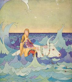 [Forest uncivilized] | image of woman painter who longed to graceful foreign country Virginia Frances Sterrett