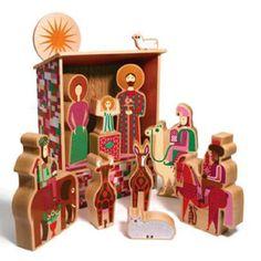 adornos navideños alemanes de madera - Buscar con Google