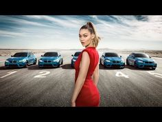 Can You Correctly Guess Which Car Carries Model Gigi Hadid In BMW's Fun New Ad? - DesignTAXI.com