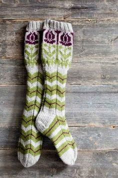 Finnish champion socks - Knitting and Crochet - Large Craft Crochet Socks, Knitting Socks, Hand Knitting, Knitting Patterns, Knit Crochet, Crochet Patterns, Knit Socks, Fair Isle Knitting, My Socks