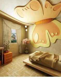 #Butterfly #Bedroom