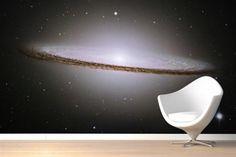 Behang van het sterrenstelsel, voor een groots huis - SheNerd