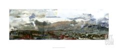 Earth Song II Premium Giclee Print by Ferdos Maleki at Art.com