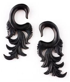 Floral Horn Ear Plugs