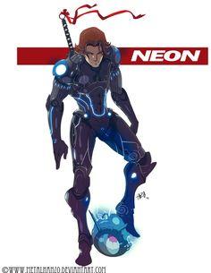 N.E.O.N.Manga -Neon- by HeavyMetalHanzo.deviantart.com on @deviantART
