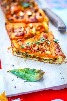 Südafrikanische Tarte Capetown mit Süßkartoffel und Erdnuss  GourmetGuerilla.de