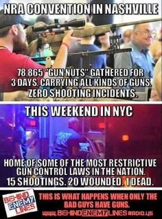 if you are for gun control. please take the time to look at places that have it ,you will find a higher crime rate every time .your information should not come from main stream TV!!!!!!!!!!!!!!!