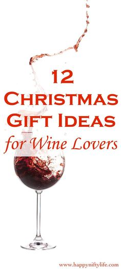Affordable Christmas gift ideas 2017 | wine lovers | wine accessories | great gift ideas for family and friends