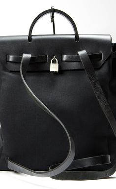 Hermès Black Backpack