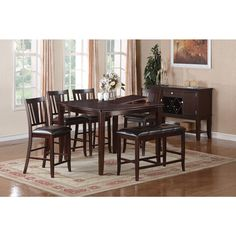 Acerra Counter Height Dining Set - Overstock™ Shopping - Big Discounts on Dining Sets