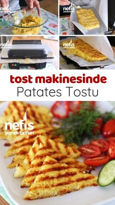How to make Potato Toast Recipe (video) in a toaster? Here is the video description of this recipe in the book of people and the photos of the experimenters. How To Make Potatoes, Sugar Donut, Best Breakfast Recipes, Homemade Beauty Products, Dessert Recipes, Desserts, Potato Recipes, Food Videos, Toast