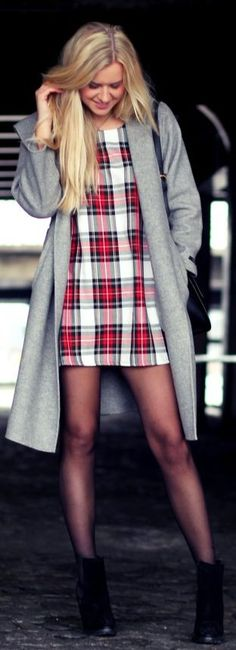 #Tartan by Fanny Staaf >> In love with this entire outfit!