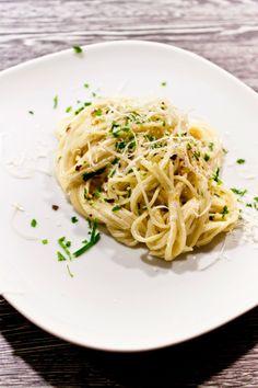 Cucinare con amore: Smetanové špagety