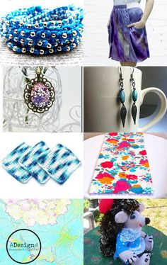 Cool summer finds! by Gabbie on Etsy--Pinned with TreasuryPin.com