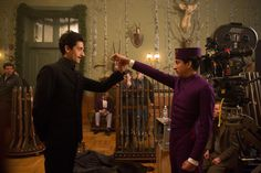 Still of Adrien Brody and Tony Revolori in Hotel Grand Budapest (2014)